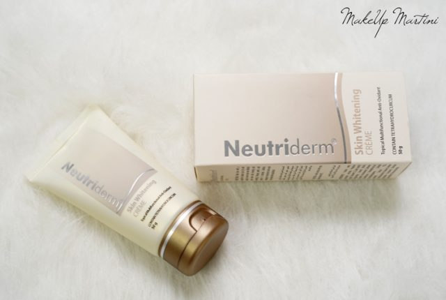 Neutriderm Skin Whitening Creme Review
