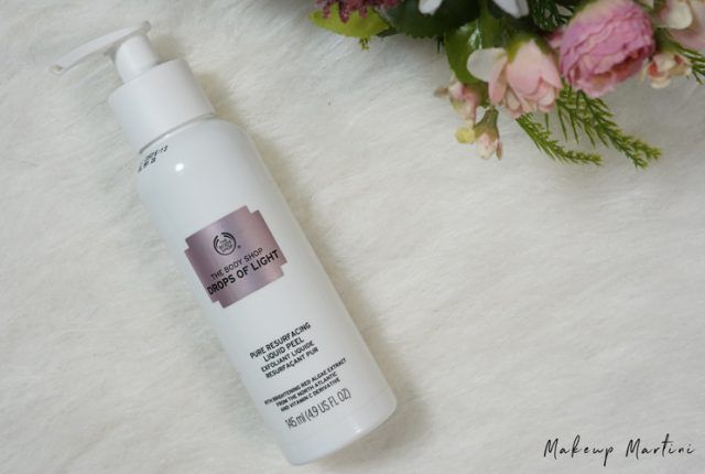 The Body Shop Drops Of Light Pure Resurfacing Liquid Peel