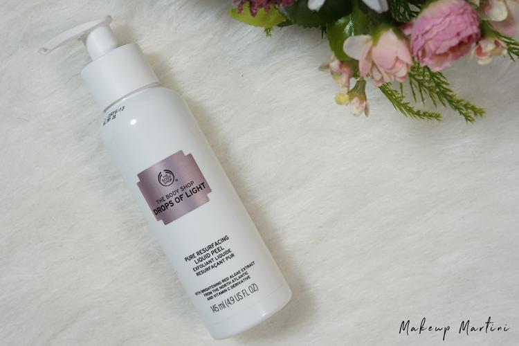 Brutally Honest Review The Body Shop Drops Of Light Pure Resurfacing Liquid Peel