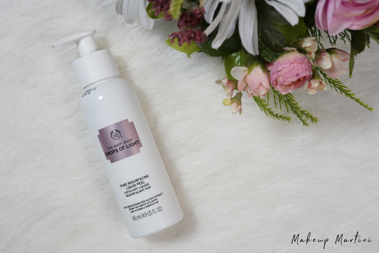 Brutally Honest Review The Body Shop Drops Of Light Pure