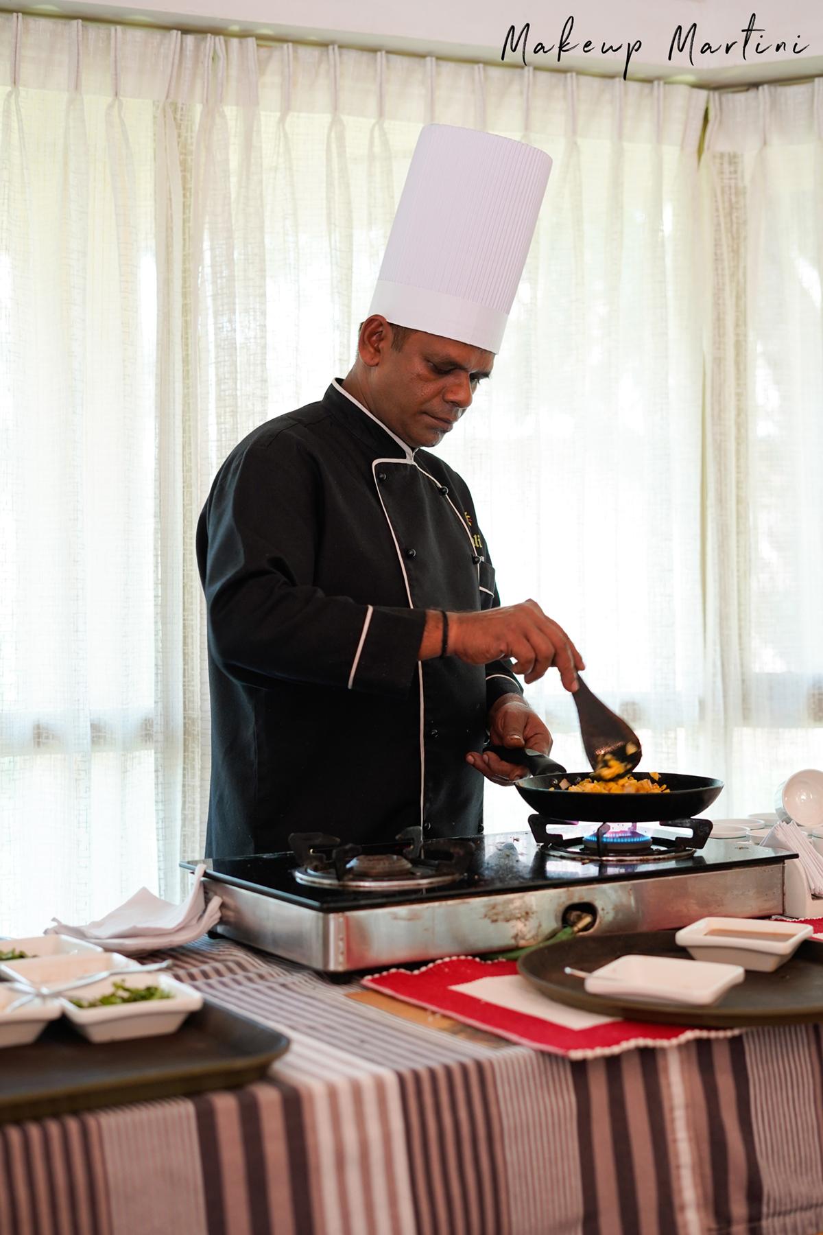 Kairali- The Ayurvedic Healing Village Cooking Demo