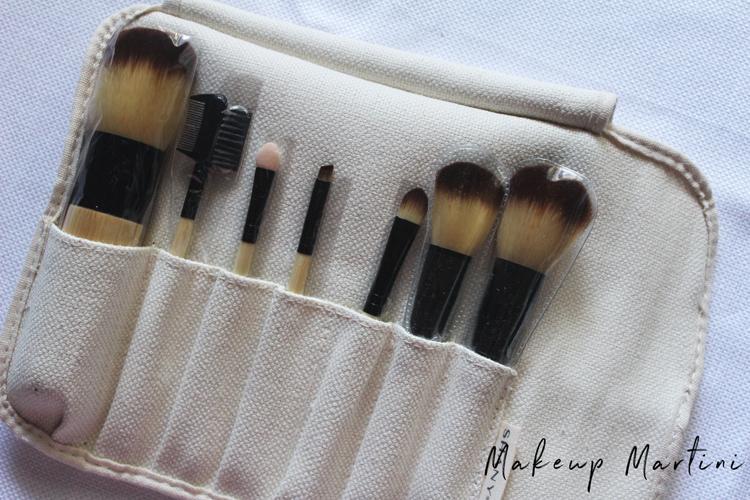 Shany 7 Piece Bamboo Makeup Brush Set Review