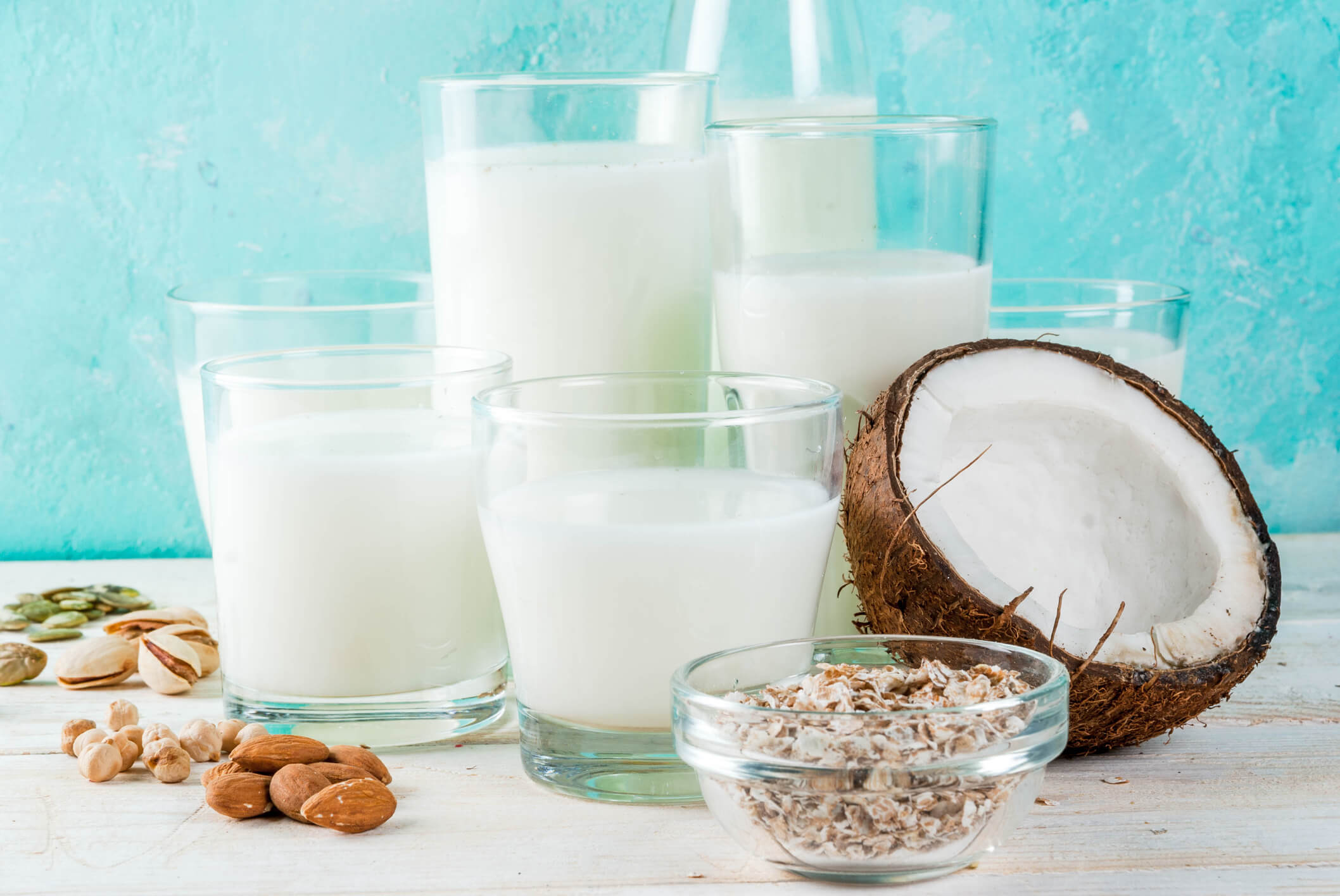Vegan Plant Based Milks