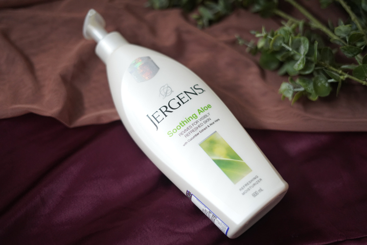 Jergens Soothing Aloe Refreshing Moisturizer Review