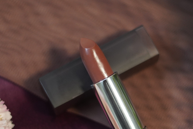 Maybelline Nude Nuance Creamy Matte Lipstick Review